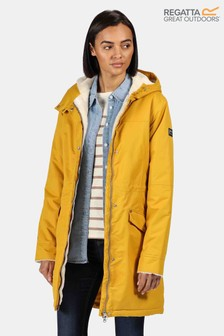 Regatta Yellow Rimona Waterproof Jacket