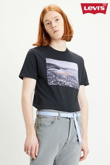 Levi's® Black Graphic T-Shirt