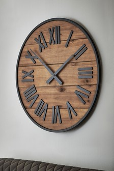 Small Bronx Wall Clock