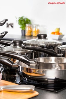 8 Piece Pan Set by Morphy Richards