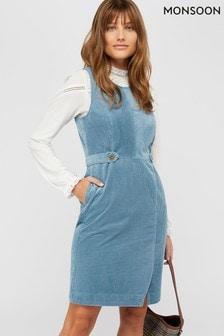 Monsoon Blue Calla Cord Dress
