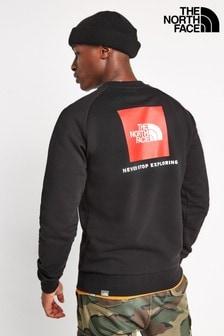 The North Face® Raglan Red Box Crew Sweater