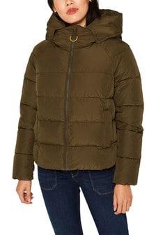 Esprit Khaki 3M Thinsulate Jacket