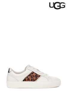 UGG White/Animal Dinale Trainers
