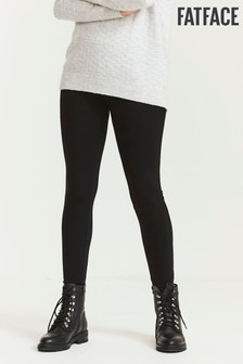 FatFace Black Ponte Leggings