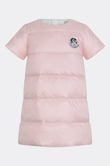 Baby Girls Light Pink Logo Dress