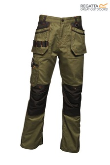 Regatta Green Incursion Holster Workwear Trousers