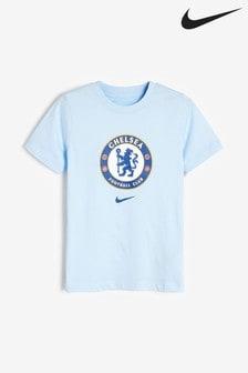 Nike Chelsea Football Club Crest T-Shirt