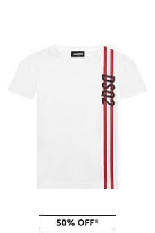 Dsquared2 Kids Boys Cotton T-Shirt