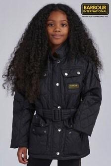 Barbour® International Girls Polarquilt Jacket