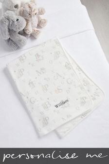 Personalised Peter Rabbit Blanket
