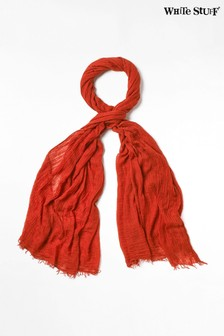 White Stuff Orange Dreaming Away Scarf
