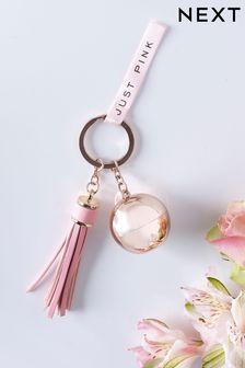 Just Pink Solid Fragrance Keyring