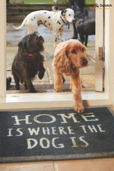 Howler & Scratch Home Slogan Washable And Recycled Non Slip Doormat