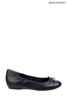 Rockport Black Tied Ballet Shoes