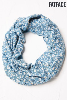 FatFace Blue Ditsy Floral Multi Snood