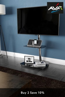 AVF Reflections Iseo Corner Pedestal TV Stand