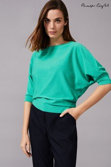Phase Eight Green Cristine Knit Top