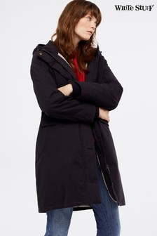 White Stuff Blue Fernhurst Parka