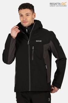 Regatta Black Wentwood V 3-In-1 Waterproof Jacket