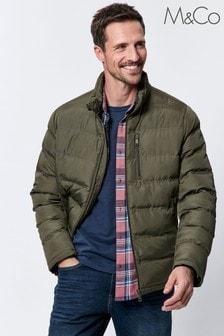 M&Co Men Green Padded Jacket
