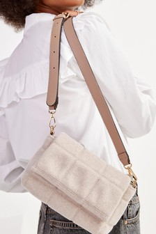 Padded Quilted Mini Cross-Body Bag