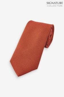 Signature Textured Silk Tie