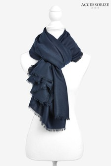 Accessorize Navy Take Me Everywhere Scarf