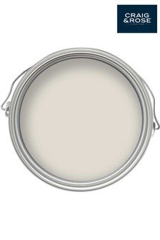 Chalky Emulsion Chalky White 2.5L Paint by Craig & Rose