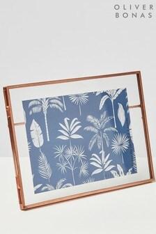 Oliver Bonas Rose Gold 5x7 Photo Frame
