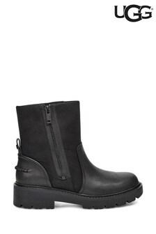 UGG® Black Zip Biker Boots