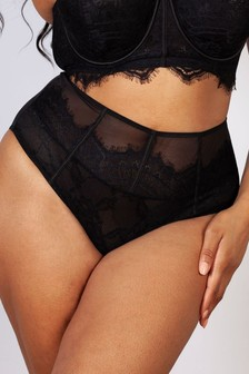 Gabi Fresh Black High Waist Briefs