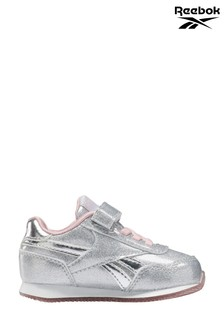Reebok Silver Royal Jogger Infant Trainers