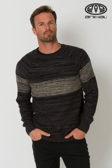 Animal Black Ledges Knitted Jumper