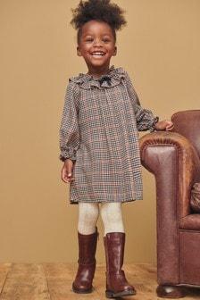 Cotton Check Dress (3mths-7yrs)