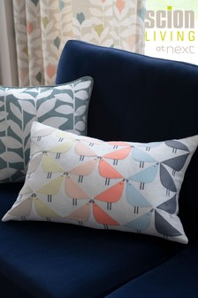 Scion Living Exclusively At Next Lintu Appliqué Cushion