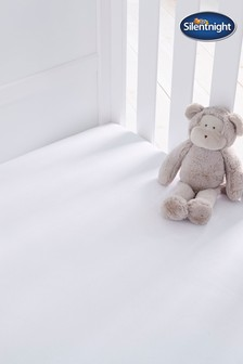 Safe Nights Cot Bed Fitted Sheet by Silentnight