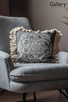 Gallery Direct Barranco Medallion Fringed Cushion