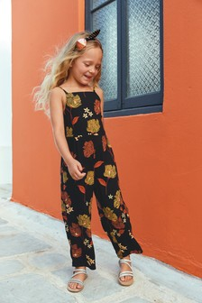 Twist Back Strappy Jumpsuit (3-16yrs)