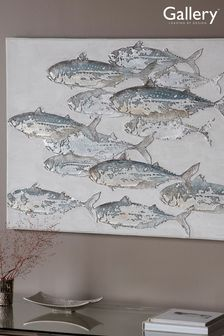 Down River Fish Canvas by Gallery Direct
