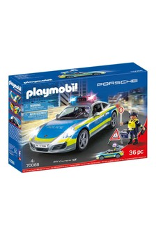 Playmobil® 70066 Porsche 911 Carrera 4S Police Car With Lights and Sound
