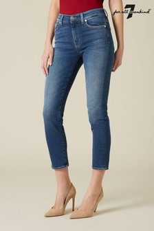 7 For All Mankind Mid Denim Roxanne Jeans
