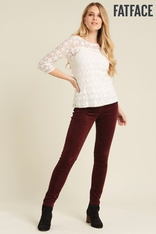 FatFace Velvet Jeggings
