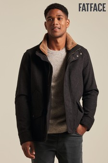 FatFace Broadsands Wool Blend Jacket
