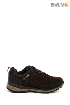 Regatta Samaris Suede Waterproof Walking Trainers