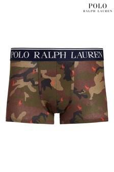 Polo Ralph Lauren Camoflauge Bold Logo Waistband Single Hipster Trunks