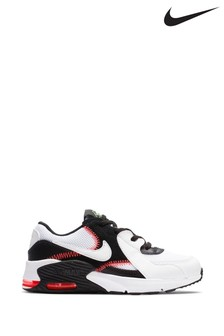 Nike White/Pink Air Max Excee Junior Trainers
