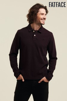 FatFace Purple Kelby Plain Polo