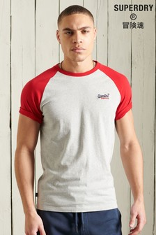 Superdry Orange Label Baseball Raglan T-Shirt