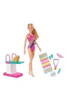 Barbie Dreamhouse Adventures Swim 'N Dive Doll & Accessories